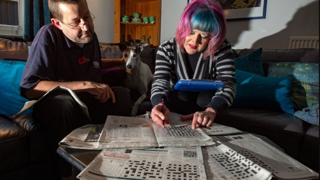 John Henderson and his wife, Jane, share a love of cryptic crosswords