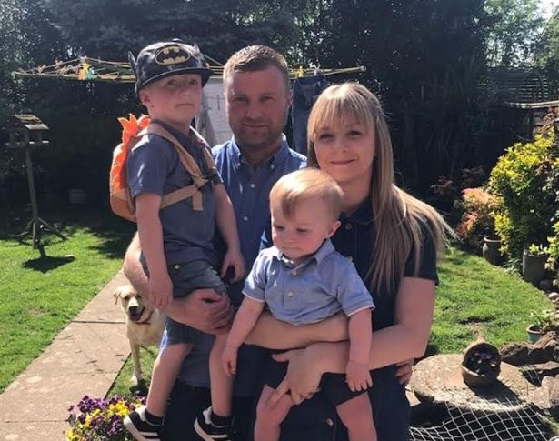Katie Wardle and her 29 year-old partner Ciaran Gough are based in Cheylesmore, a suburb of Coventry which lies close to the city centre. They face being homeless with their two young children - Oliver, who is one year old and Joshua, who is five