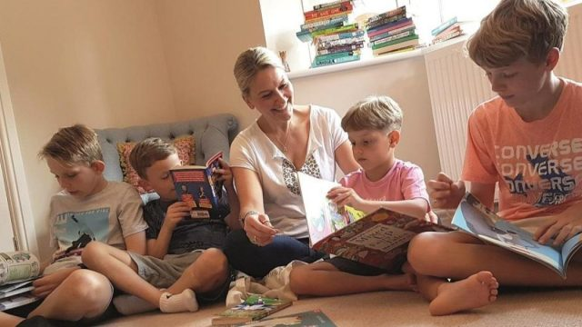 Tracey McDermott said she enjoys sharing her passion for reading (Photo: Coram Beanstalk)
