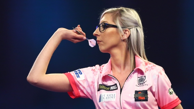 Fallon Sherrock, a 25-year-old from Milton Keynes, became the first woman to win a match at the PDC World Darts Championship