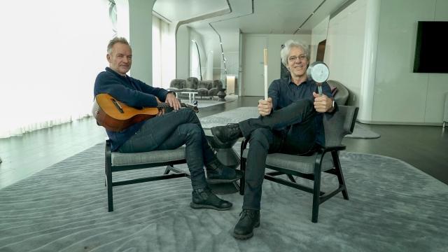 Stewart Copeland's Adventures In Music Sting BBC4