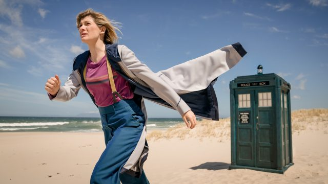 Jodie Whittaker as the Doctor in 'Praxeus' (Photo: BBC)