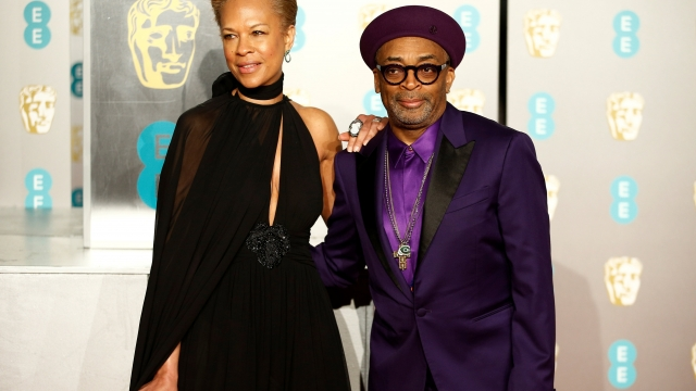 Spike Lee, pictured with his wife Tonya Lewis Lee, will head the jury at this year's Cannes film festival, becoming the first black person to hold the post