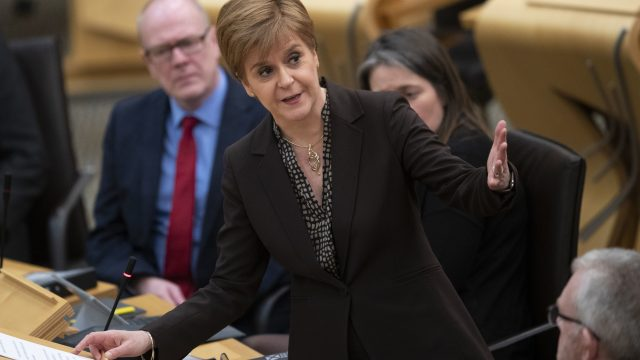 Nicola Sturgeon is planning to set out her 'next steps' on indyref2 on Friday (Photo: PA)