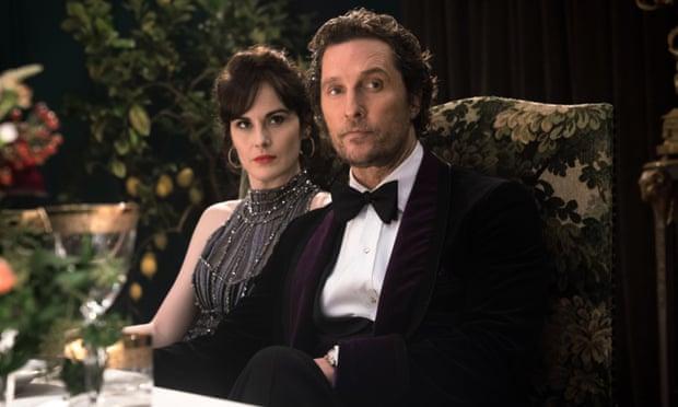 Michelle Dockery and Matthew McConaughey in The Gentlemen (Photo: Allstar/Miramax)