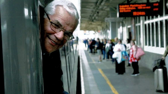 Alun Bessette has been working on the railway line between Swansea and London for 27 years