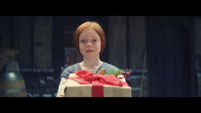 John Lewis Christmas advert 2019 Excitable Edgar, which featured a baby dragon in a historical village