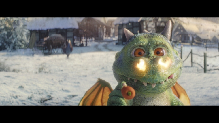 Outcast dragon Edgar was the star of the John Lewis 2019 Christmas advert (Photo: PA)