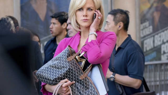 Nicole Kidman stars as Gretchen Carlson, the fired Fox News anchor whose lawsuit against Ailes sparked the uprising against him, in new film Bombshell