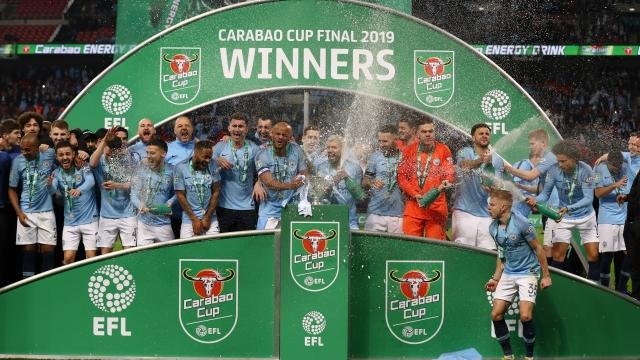 Carabao Cup final winners Manchester City