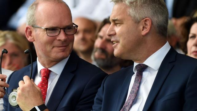 Simon Coveney said Boris Johnson's timetable was 'ambitious' (Photo: Eric Piermont/Getty)