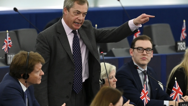 Nigel Farage told Sky News earlier this week he was ready to head back to the UK