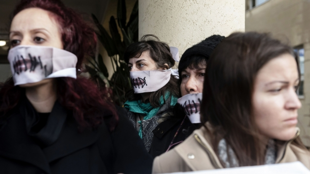 Women's rights activists in Cyprus