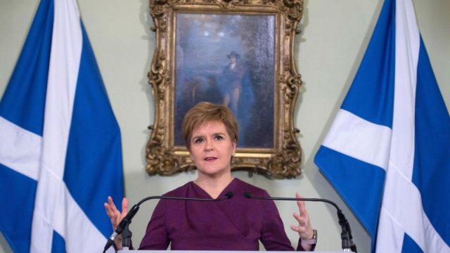 Nicola Sturgeon will set out her 'next steps' on Scottish independence this week (Photo: Getty)