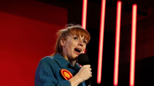 Angela Rayner is to stand as a candidate to become Labour's next deputy leader. (Photo by Darren Staples/Getty Images)