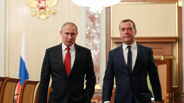 Dmitry Medvedev Russia Shock As Government Resigns To Help Vladimir Putin Re Write The Constitution