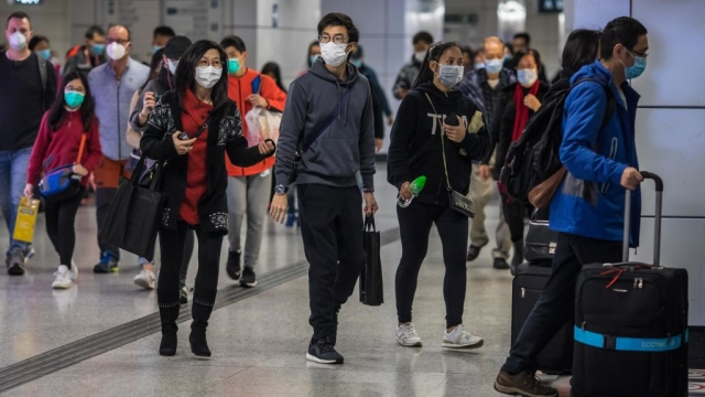 Huge areas of China remain on lockdown as the country struggles to contain the coronavirus outbreak (Photo: Dale de la Rey/AFP/Getty Images)