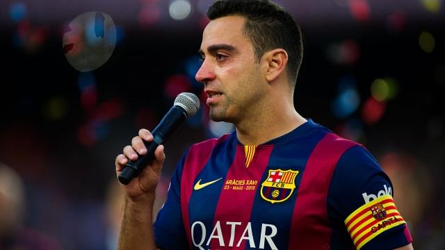 Barcelona legend Xavi