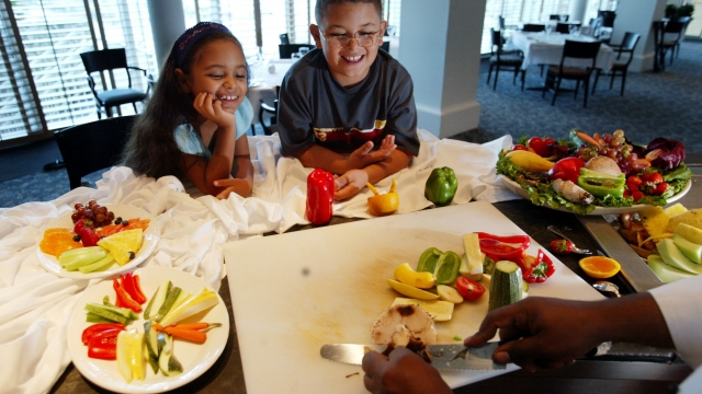 Healthy eating could be changing children's tastes, says study