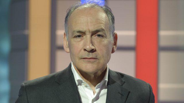 Journalist and newscaster Alastair Stewart
