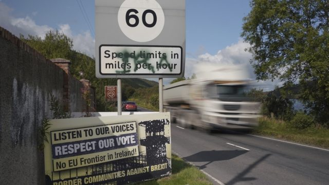 Uncertainty over the Irish border and customs arrangements are still rumbling on
