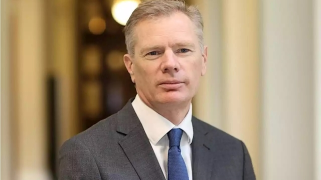 UK Ambassador to Iran Rob Macaire