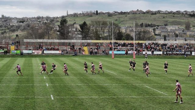 Article thumbnail: Batley residents are proud of their local rugby league team, but their town has taken a hit in recent years (Photo: Gareth Copley/Getty Images)