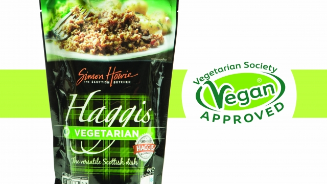Vegetarian and vegan haggis such as this Macsween version have become increasingly popular at Burns Night celebrations