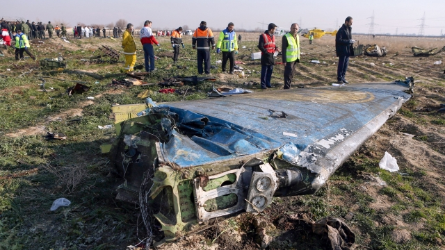 Iran, which has denied the Boeing 737-800 was downed by a missile, said it could take one or two months to extract information from the voice and flight data recorders