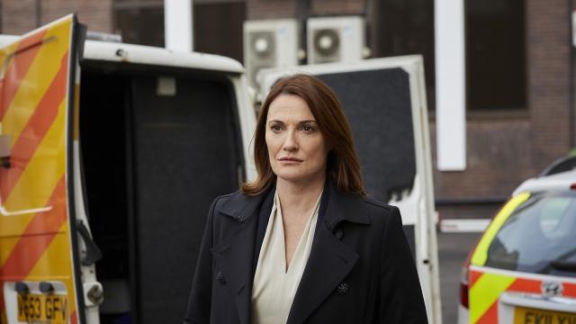 Sarah Parish as Bancroft on ITV