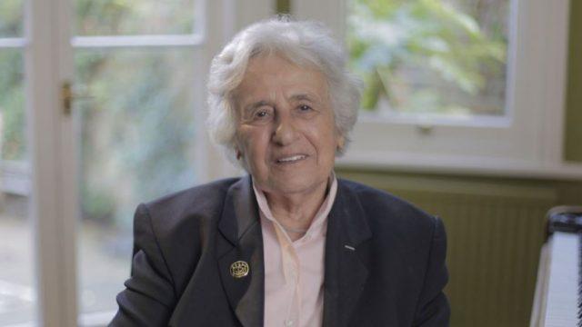Anita Lasker-Wallfisch, one of the survivors of Belsen (Photo: David Langham/BBC Pictures)