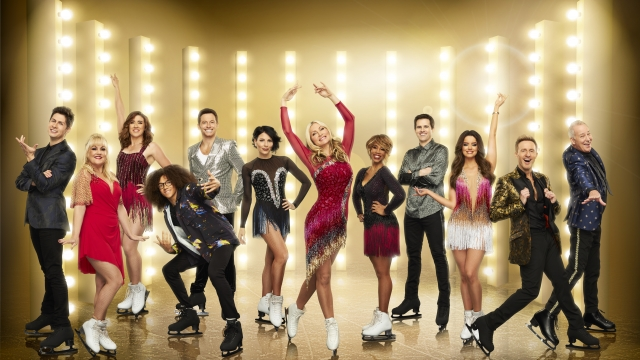 The new series of Dancing On Ice features a whole new line-up of celebrities strapping on their skates