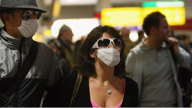 Demand for face masks is outstripping supply, with some pharmacies completely sold out (Photo: Getty)