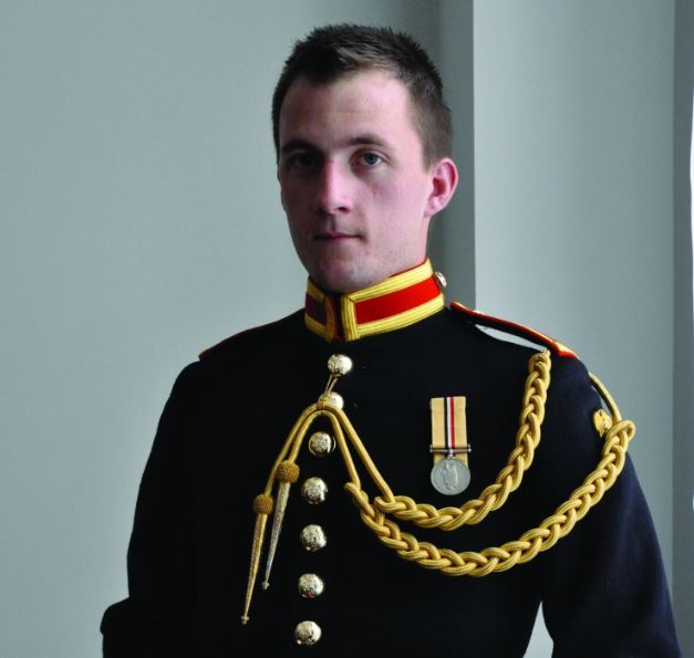 Soldier James Wharton was one of the first openly gay soldiers in the military