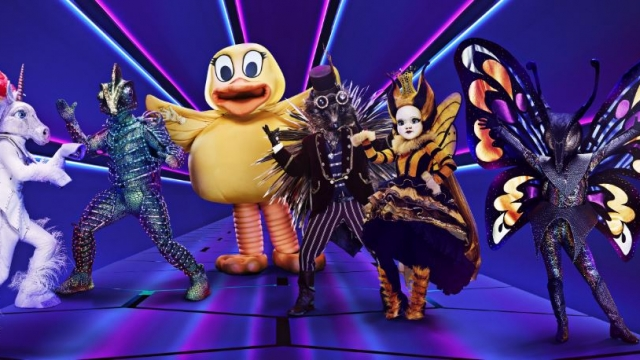 Celebrities perform in elaborate disguises in ITV's new series The Masked Singer (Courtesy: ITV)