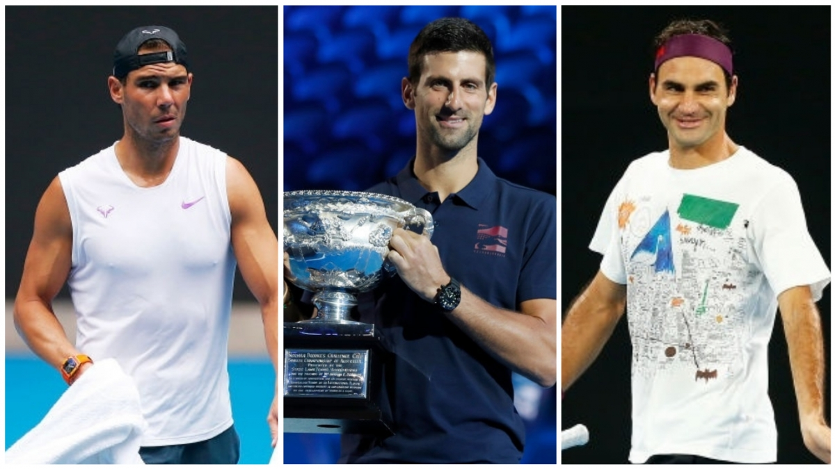 Australian Open 2020 Draw Who Roger Federer Novak Djokovic And Rafael Nadal Could Face En Route To The Final