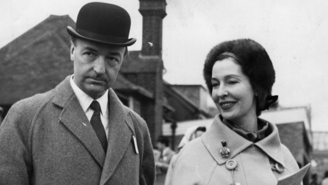 John Profumo and his wife Valerie Hobson