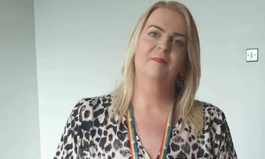 Ricki works for Northern Ireland's civil service (Photo: Supplied by Stonewall)