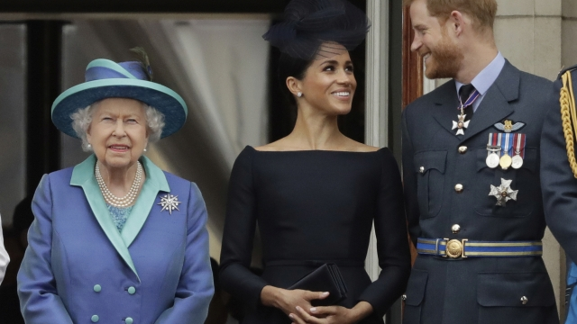 The Queen is said to have been unaware about the Duke and Duchess of Sussex's statement