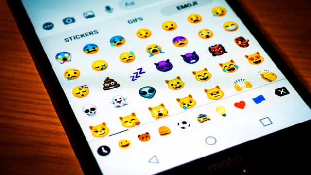 Article thumbnail: Emoji keyboard