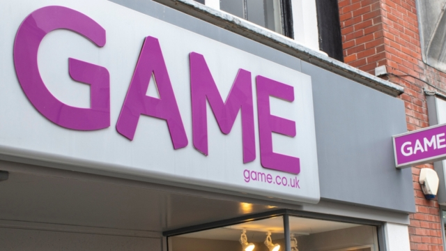 Game store in Bognor High Street
