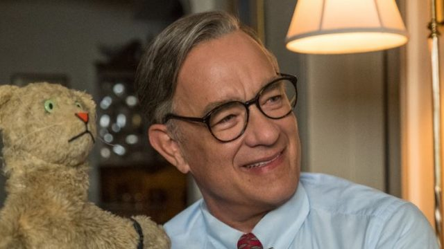 Tom Hanks as Mister Rogers in A Beautiful Day in the Neighbourhood (Courtesy: Sony)