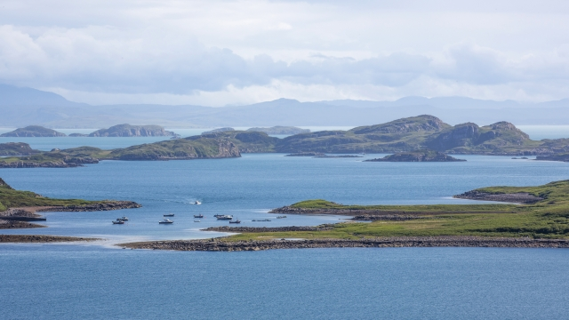 Summer Isles in Assynt, part of the North West Highlands Geopark (Photo: VisitScotland / Kenny Lam)