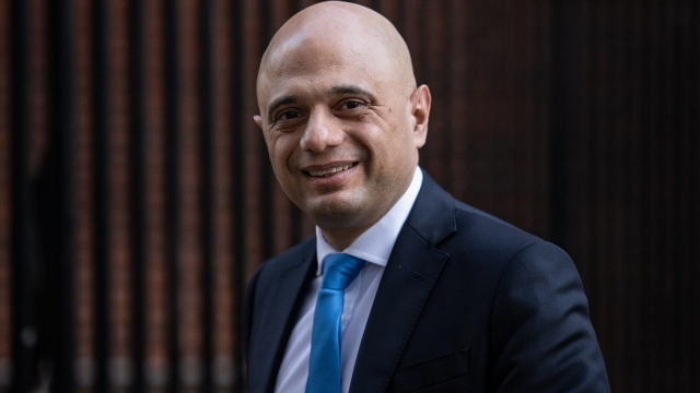 Chancellor Sajid Javid on February 6, 2020 in London, England.