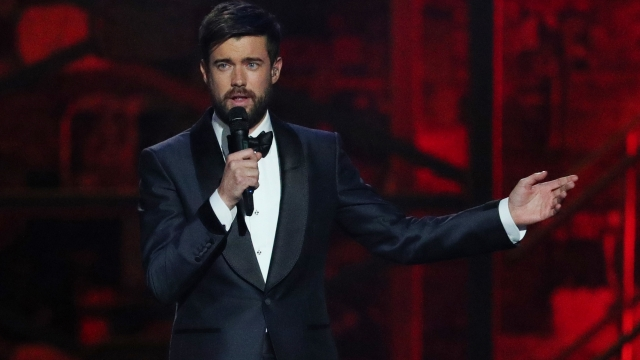 Jack Whitehall presents at the Brit Awards