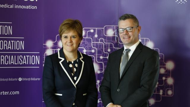 Nicola Sturgeon has described Derek Mackay's actions as 'unacceptable' (Photo: Scottish Government)
