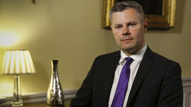 Derek Mackay has apologised for his actions, saying he behaved 'foolishly' (Photo: Scottish Government)