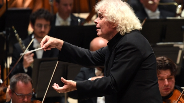 Sir Simon Rattle fears tours will have to be curtailed despite their importance for generating income