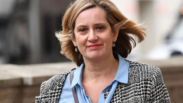 Article thumbnail: Teneo hired former Work and Pensions Secretary Amber Rudd last week (Photo by Ben STANSALL / AFP) (Photo by BEN STANSALL/AFP via Getty Images)