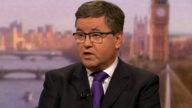 Robert Buckland appearing on the Andrew Marr Show